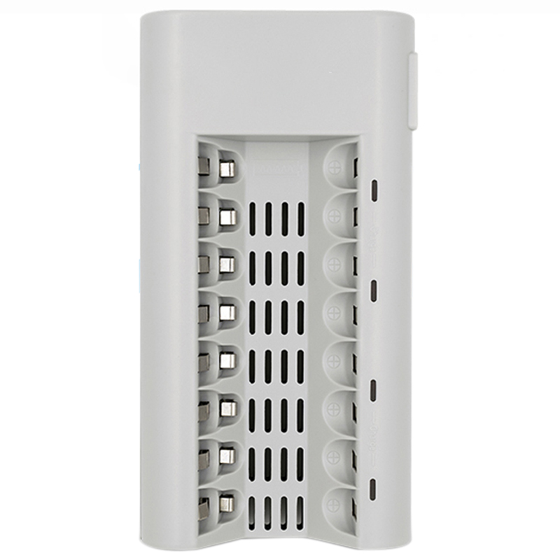 eu Fancy Colours Accessories & Parts Open-Minded Aa Battery Charger Aa Battery Charger 8 Slots Charger For Ni-mh Ni-cd 1.2v Aa/aaa Rechargeable Battery Led Display Charger Chargers