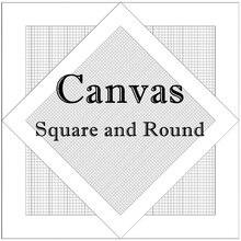 Пустая сетка Алмазная роспись холст квадратные и круглые плед Алмазная вышивка холст и инструменты вышивка крестиком Мозаика