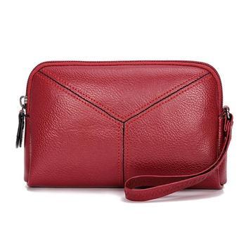 2019 Female Mini Handbag Fashion Designer Women PU Leather Long Wallet Women Phone Hand bags Lady Wallets Purse Clutch