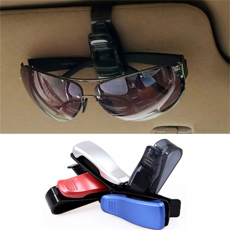 New Abs Car Vehicle Sun Visor Sunglasses Eyeglasses Glasses Ticket Holder Clip Auto Fastener Clip Auto Accessories