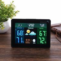 Wireless Color Weather Station Thermometer Hygrometer Indoor And Outdoor Digital Temperature Monitor Wireless Sensor