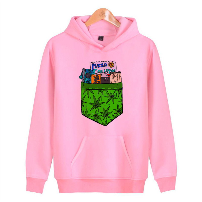 Weed Hoodies Sweatshirts Hoddies Pullover Streetwear Homme Hip Male Harajuku Hop Men/women J2512