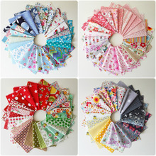 Hot Sale 10pcs New Mix Cotton Fabric Material Joblot Value Bundle Scraps Offcuts Quilting For DIY Sewing