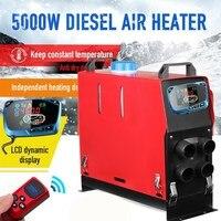 Все в одном 5000 Вт воздушные Дизели нагреватель 5 кВт 12 В в автомобильный обогреватель для грузовиков моторные дома лодки автобус + новейший Ж
