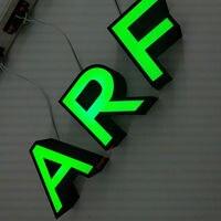 Nuevo Carteles acrílicos de luz personalizados 3D de China con letras iluminadas