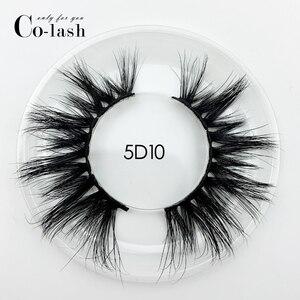 Image 3 - Colash 15 millimetri 5D Ciglia di Visone Ciglia Finte Incrociato Naturale lunghe ciglia Trucco 3D Ciglia di Visone Estensione Del Ciglio Del Ciglio Multi strato