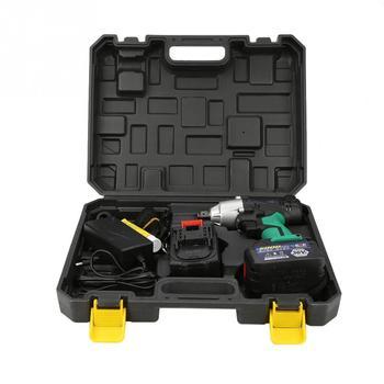 1セットブラシレスコードレスインパクトレンチ36VF6000mAhリチウム電池動力工具キット電気インパクトレンチインパクトレンチ