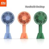 Xiaomi Mijia VH вентилятор портативный ручной вентилятор с перезаряжаемым встроенным аккумулятором USB порт дизайн удобный мини-вентилятор для ум...