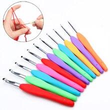 Крючки, иглы, швейные инструменты, швейные иглы, спицы для вязания, инструменты для шитья, крючки для вязания, алюминиевые, 1 шт., пряжа для рукоделия
