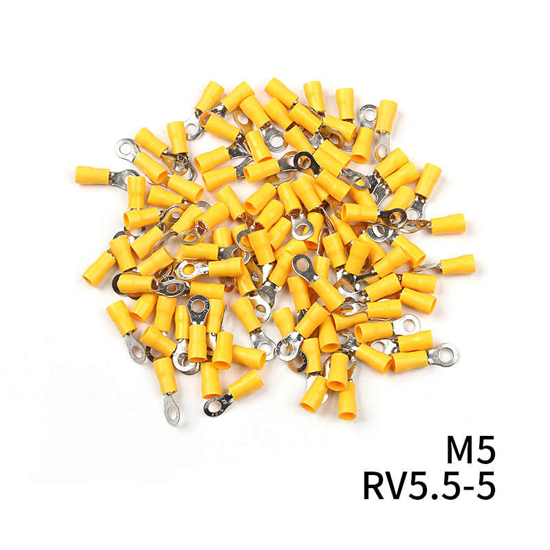 RC 100PCS RING TERMINAL 5.5-8 12-10