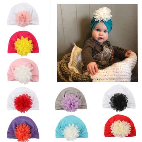 เด็กวัยหัดเดินทารกแรกเกิดเด็กทารก Daisy ดอกไม้ Skull Beanies หมวกหมวกเด็กทารกเด็กผู้หญิงลูกไม้เจ้าหญิง Headdress หมวกหมวกฝาครอบ
