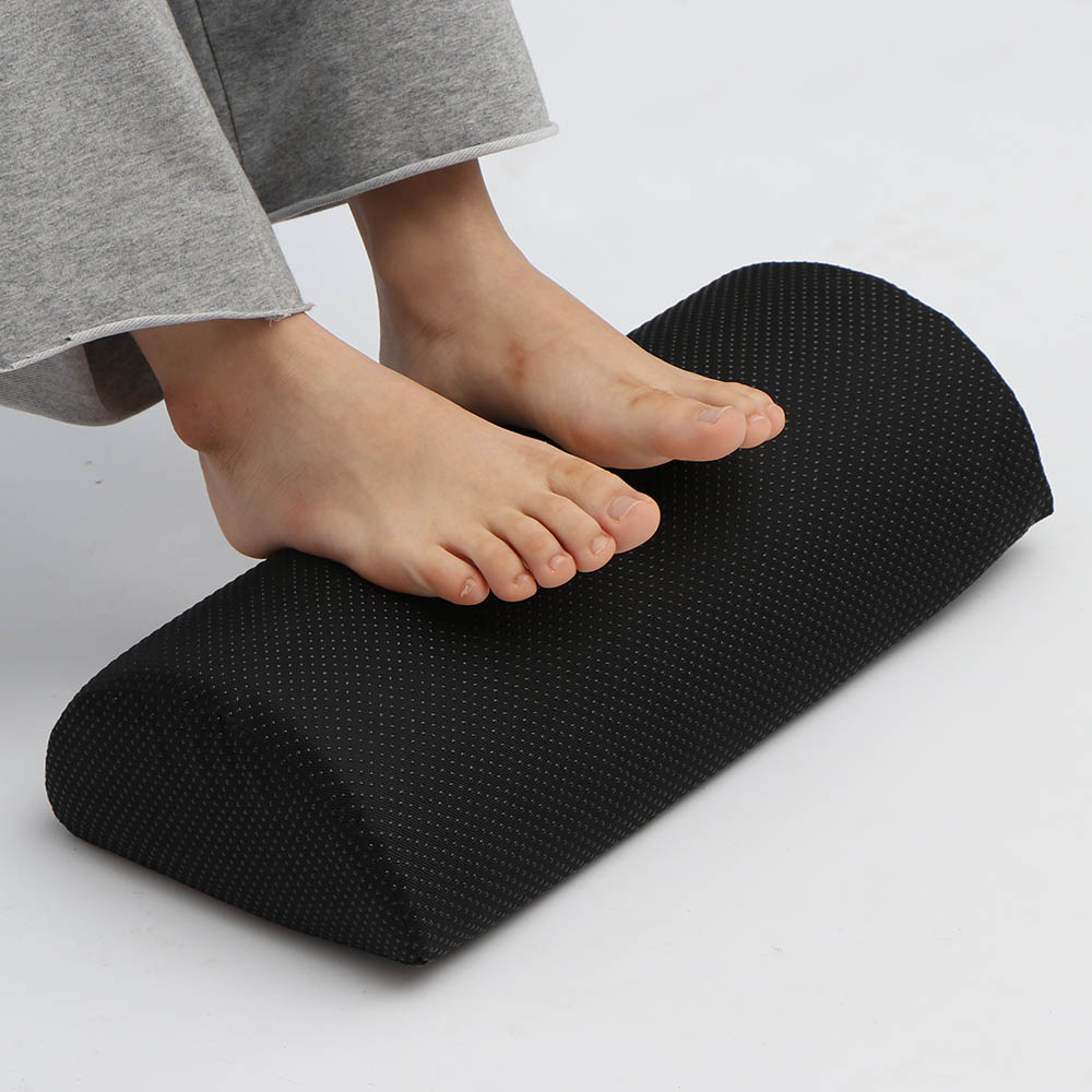 Abedoe Feet Cushion Support Foot Rest Under Desk Feet Stool Foam Pillow For Home Carpet Traveling Carpets & Rugs Home & Garden