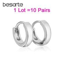 10 парт/Лот оптовая продажа маленькие серьги кольца женские