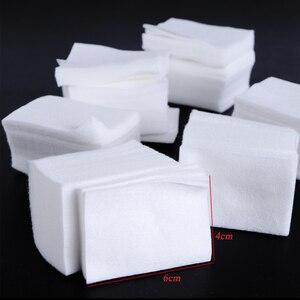 Image 5 - 1 pacote gel polonês removedor almofada toalhetes de unha limpeza de fiapos livre almofada de papel embeber fora removedor manicure algodão guardanapos envoltório ferramenta CH957 1