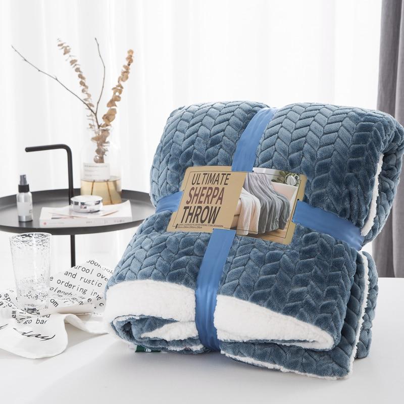 Супер мягкое фланелевое одеяло для дивана, офисного использования, детское одеяло для путешествий, переносное одеяло для путешествий, бесплатная доставка