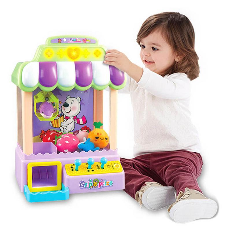 Claw Machine for Kids Electronic Arcade Game Coin Operated Candy Grabber Balls Catcher Educational ToysClaw Machine for Kids Electronic Arcade Game Coin Operated Candy Grabber Balls Catcher Educational Toys