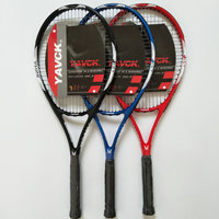 One Pair Outdoor Indoor Beginners Sports Tennis Racket New Style Carbon Aluminum Frame Tennis Racket practicing Tennis Racquet