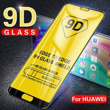 9D Tempered Glass for Huawei Nova 3 3i Honor 8A 10 Play 8X Mate 20 P30 Lite P Smart 2019 Y6 2019 Full Screen Protector Glass(China)