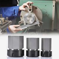 Hard Steel Hex ER25/ER32/ER40 Collet Chuck Block CNC Lathe Tool Holder Engraving Machine Tool Parts