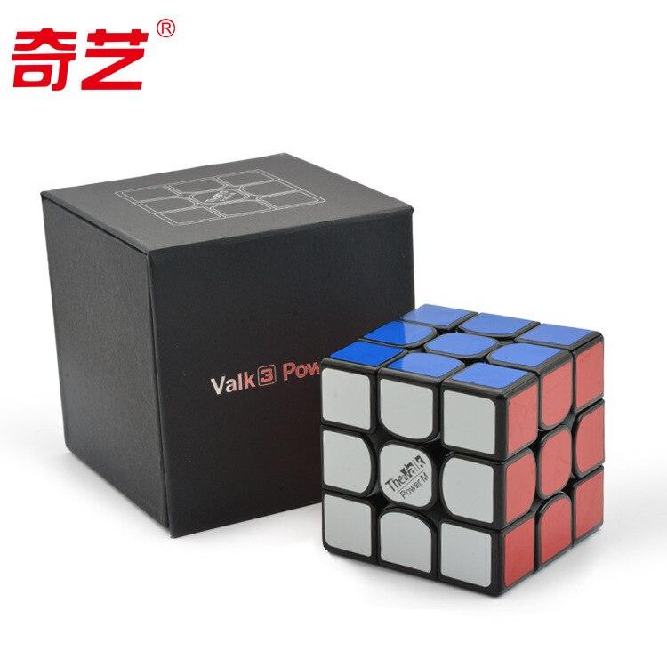 QI YI Valk3 puissance Force magnétique trois Cube magique Cube magique le dieu du blé spécial-but Pro3 étapes Alpinia Oxyphylla jouets