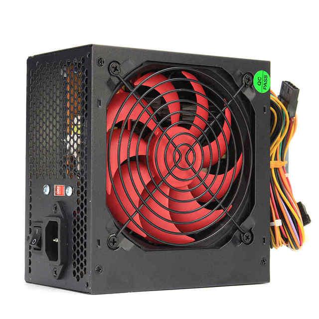 650 W PC ordinateur alimentation ordinateur PC CPU alimentation 20 + 4 broches 12 cm ventilateurs ATX 12 V Molex PCIE w/SATA PCIE