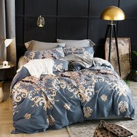 Boho Classical Egyptian cotton bedding set Bohemia European style pastoral bedlinen duvet cover pillowcases bedspreads