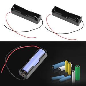 5 шт., держатель аккумулятора 18650 с одним слотом для самостоятельной сборки, блок питания для перезаряжаемых аккумуляторов 18650, чехол для кор...