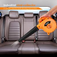 600W 220V Electric Air Blower Vacuum Cleaner Industrial Dust Removal Blowing Suction Dust Collector cleaner for Computer Car