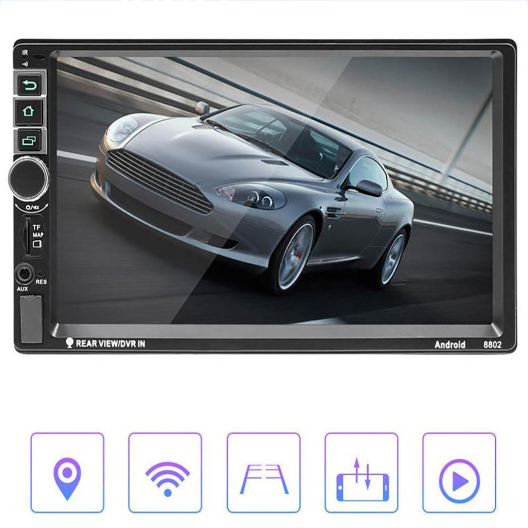 GPS Bluetooth Car MP5 Player 2 Din Android 8.1 7 Touch Screen Dual USB FM Radio Car Music Stereo Multimedia Video Player 8802GPS Bluetooth Car MP5 Player 2 Din Android 8.1 7 Touch Screen Dual USB FM Radio Car Music Stereo Multimedia Video Player 8802
