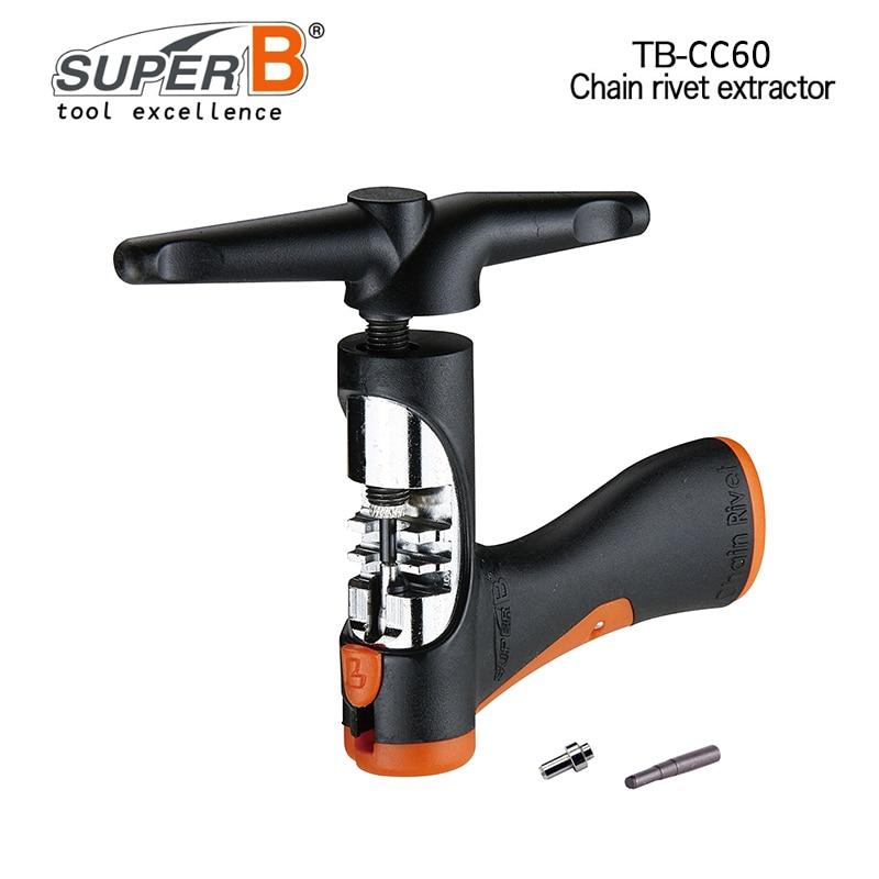Super B Chaîne Pro Rivet Extractor 10/11 Vitesse chaîne de vélo Outil TB-CC60 Vélo Réparation Outils Spécifiquement conçu pour 10 & 11 vitesse