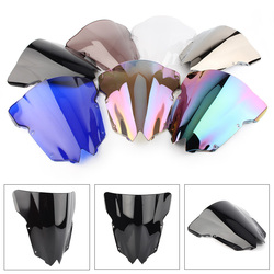 Double Bubble Motorcycle Windshield Windscreen for Yamaha YZF R6 600 2008 2009 2010 2011 2012 2013 2014 2015 2016