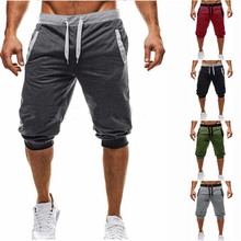 2019 Summer Brand Mens Jogger Sporting Thin Shorts Men Black Short Pants Male Fitness Gyms Shorts for workout best price hot spring sport men boxer shorts trunks slim mens gyms brand jogger sporting men beach shorts for workout