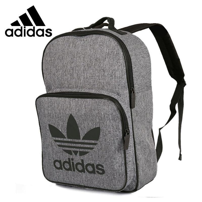 27d423a34 Adidas Nova Chegada Original Classe Sacos de Desporto Mochilas Unissex  Cinza Confortável # CD6058