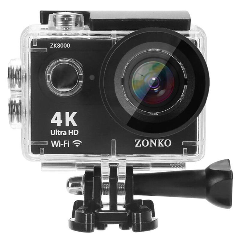 Lot caméra d'action 100% Ultra HD 4 K 30 M sport 2.0 pouces écran 1080 p FHD go étanche pro caméra d'action caméra Mini