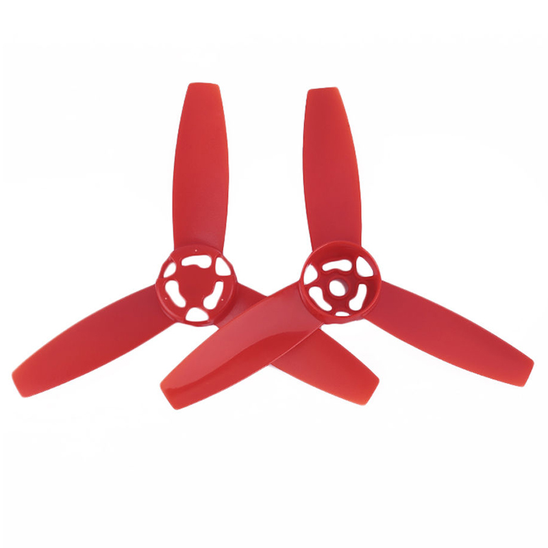 1 Pair Propeller Main Blade Rotor Prop For Parrot Bebop Drone 3.0 Red