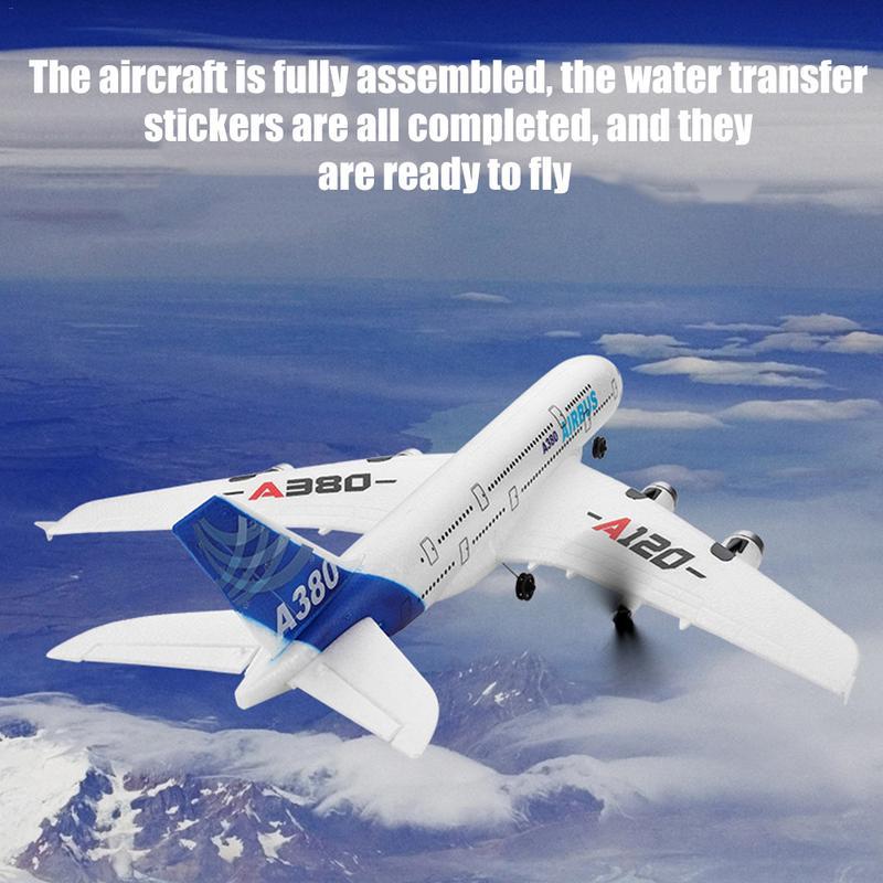 Planeur télécommandé RC avion à aile fixe EPP avion aéronef sans pilote (UAV) pour WL jouets A120-Airbus A380