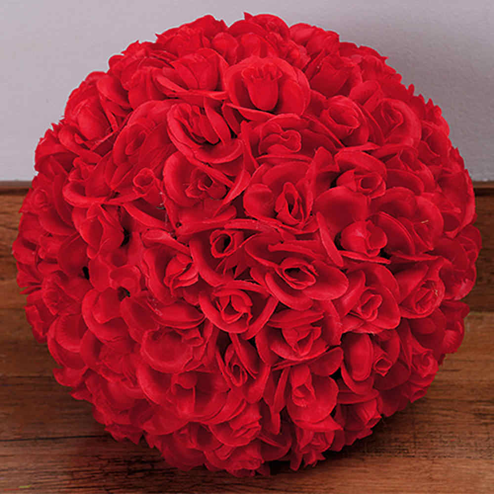 Wedding Decoration Silk Rose Balls Flower Kissing Ball Wedding Decoration Home Party Decor Accessories New