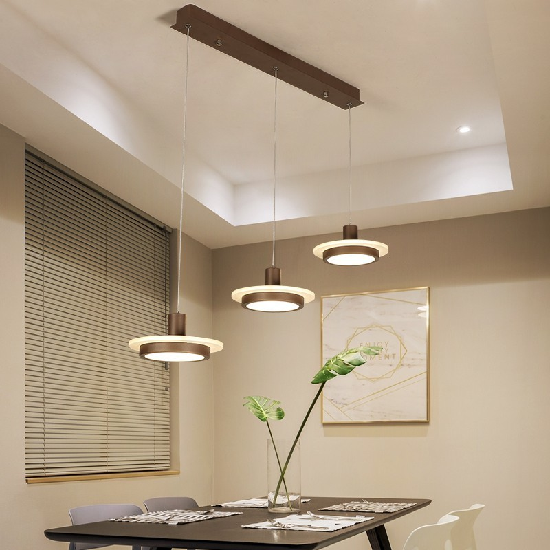 White Coffee Black Pendant Lights For Dining Living Room Simple Lighting Acrylic Lamps Luminaire Abajur Indoor Fixture AC85-260VWhite Coffee Black Pendant Lights For Dining Living Room Simple Lighting Acrylic Lamps Luminaire Abajur Indoor Fixture AC85-260V