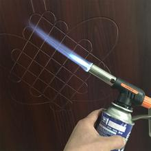 Adeeing Домашняя Плита пламени пистолет-горелка ветер полностью автоматический электронный бутан факел Зажигалки газовая горелка-пистолет адаптер Зажигалка для барбекю