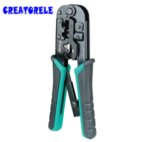 High Quality CP 376TR 4P/6P/8P Telecom Crimping Tool (190mm) Plastic Steel Cable Network Crystal Head Crimping Pliers