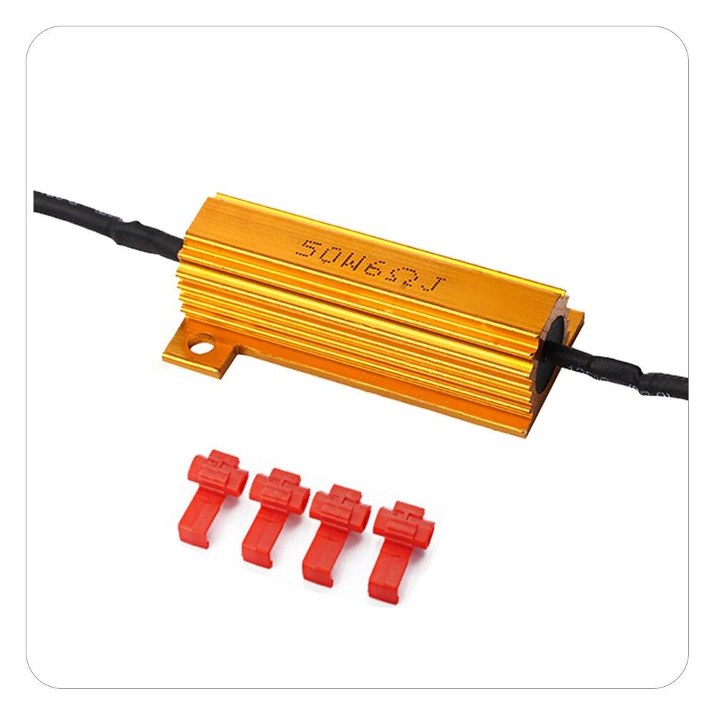 2pcs 50w Load Resistors Controllers Brake Running