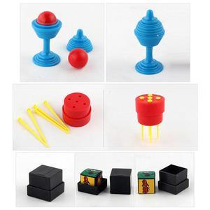Image 3 - Chidlren Magic Tricks Toys Hanky Pankys Junior Magic Set Simple Magic Props For Magic Beginner Children With DVD Teaching Kit