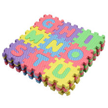 1 x Set Alphabet Environmentally Puzzle Mat Newborn Baby Play Carpet Letter Number Soft Foam Play Pad Floor for Kids Games