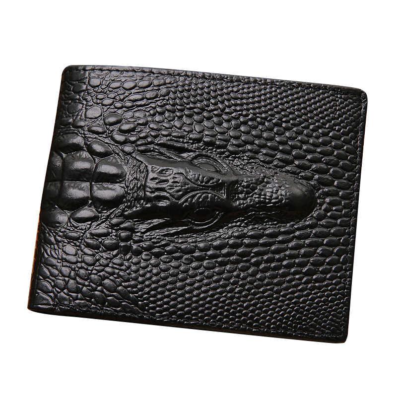 Новый мужской бумажник с отделением для кредитных карт складной кошелек клатч