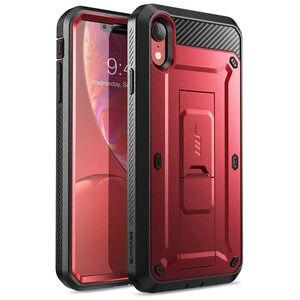 "Image 3 - קייס צבעוני עבור iPhone XR 6.1 ""מקרה SUPCASE UB פרו מלא גוף מוקשח נרתיק כיסוי עם מסך מובנה מגן & Kickstand"