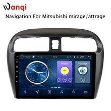 Горячая продажа 9 дюймов Android 8,1 автомобильный Dvd Gps плеер для Mitsubishi Mirage attrage 2012-2018 встроенный радио видео Навигация Bt Wifi