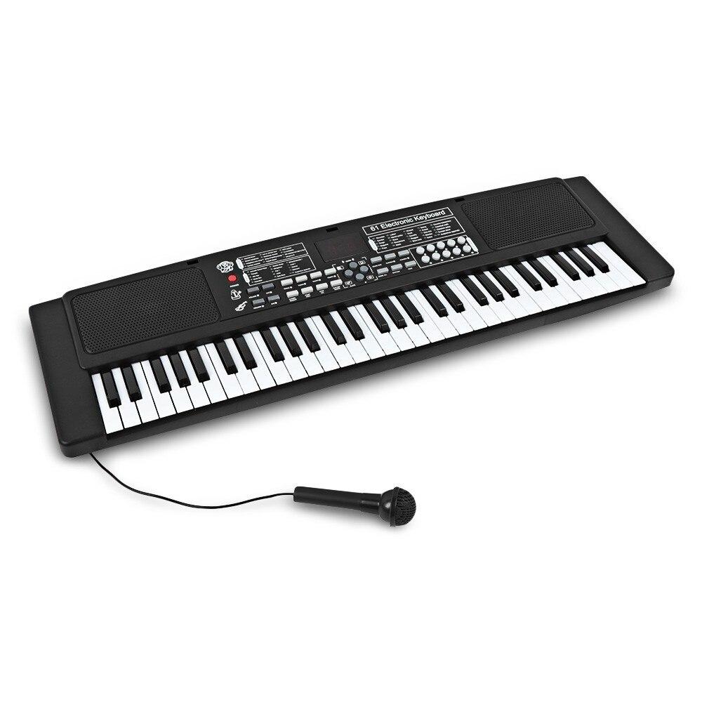 61 clés électronique orgue clavier Piano enfants Instrument de musique jouet pour enfants numérique musique jouets noël cadeau d'anniversaire