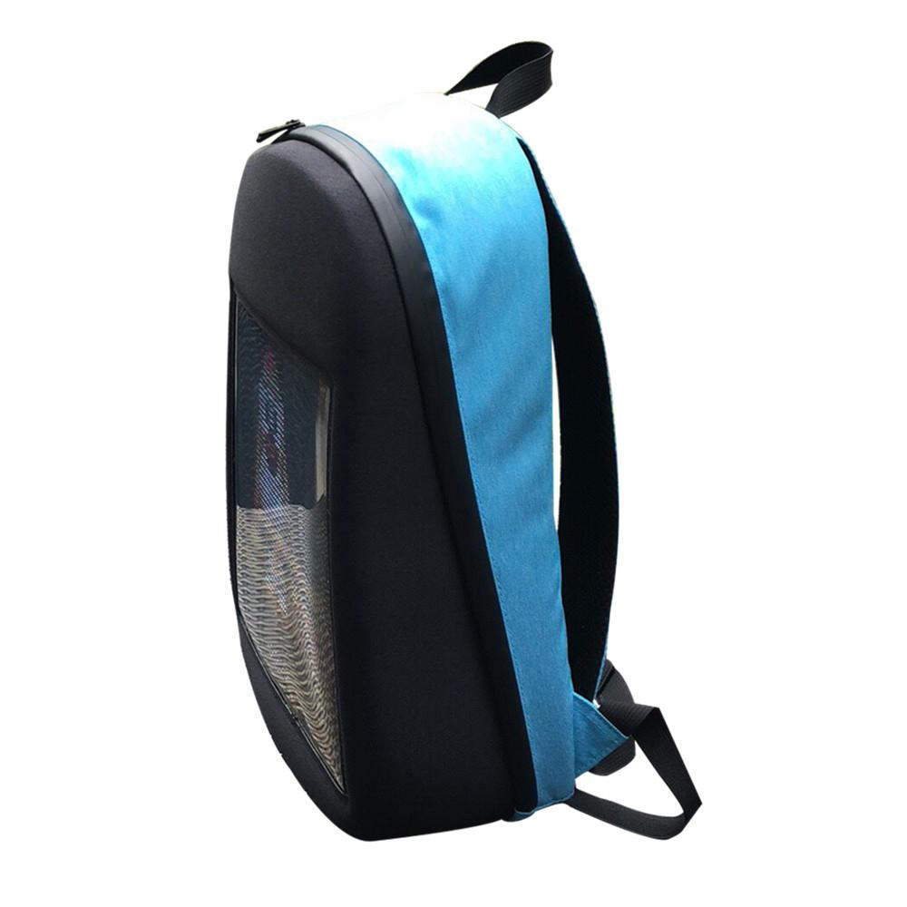 Image 2 - SOLLED LED Screen Display Backpack DIY Wireless Wifi APP Control Advertising Backpack Outdoor LED Walking Billboard Backpack-in Advertising Lights from Lights & Lighting