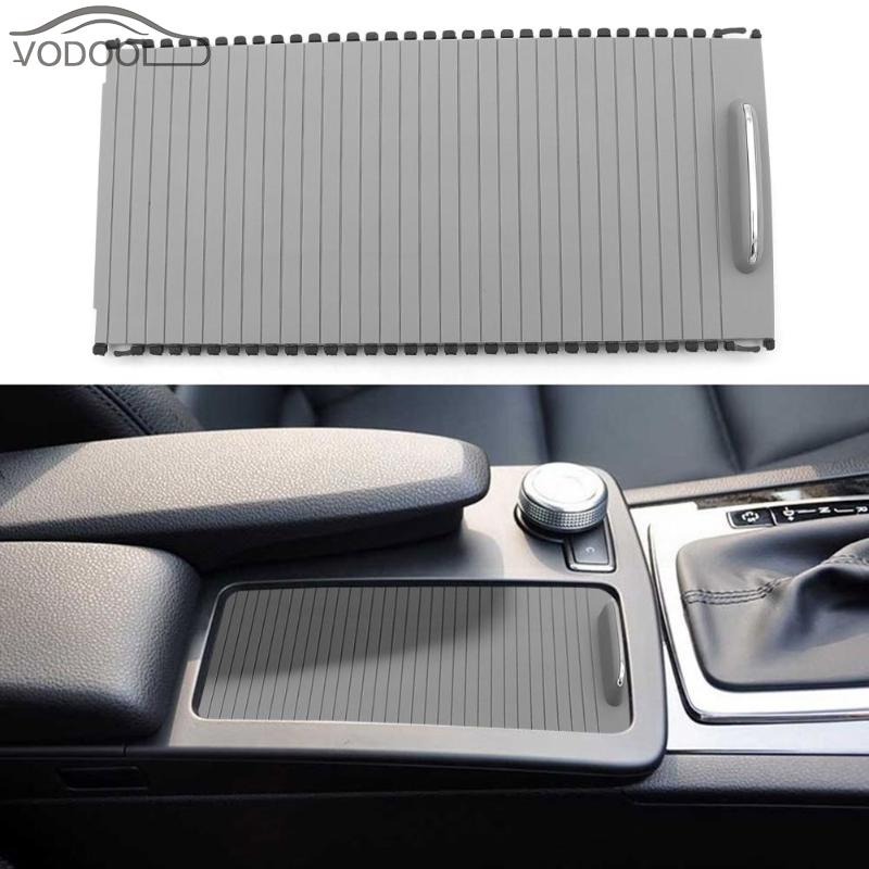 car accessories car organizer center console cover car seat storage slide roller blind for Mercedes C