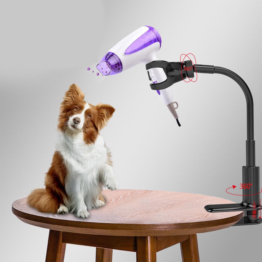 Pet Dryer Trestles Three-jaw Hair Dryer Bracket Holder Dog/Cat Grooming Dryer Support Frame Braces